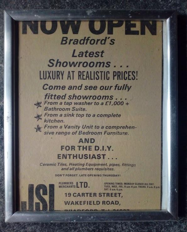 70s advert jsl bathrooms bradford