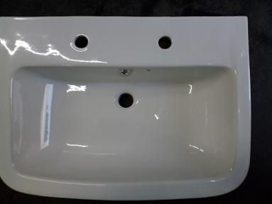 Lecico Senner two hole bathroom basin 540