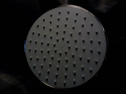 200mm round shower head large rain chrome bradford yorkshire