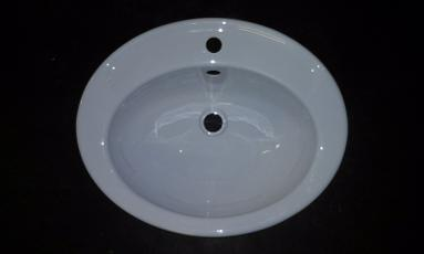 oval vanity bowl bathroom
