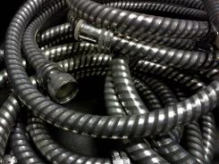Anti Pull Unravelling Shower Hose Pipe Chrome Black Non Pull Apart JSL Bathrooms Bradford