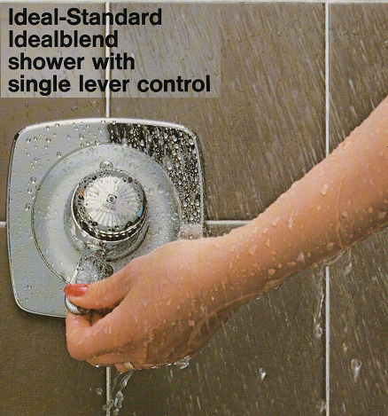 ideal standard idealblend lever wall shower valve