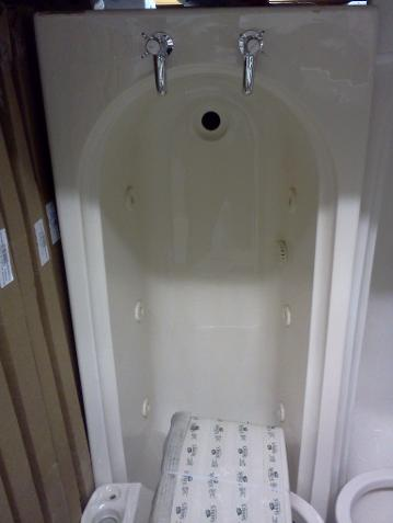 1700 700mm whirlpool bath miranda