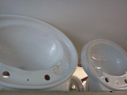 Large Oval Wall Basins For Sale Bradford