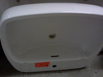 Valdares Bathroom Basin Large One Tap Hole For Mixer