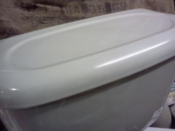 Linden green twyfords bathroom toilet cistern