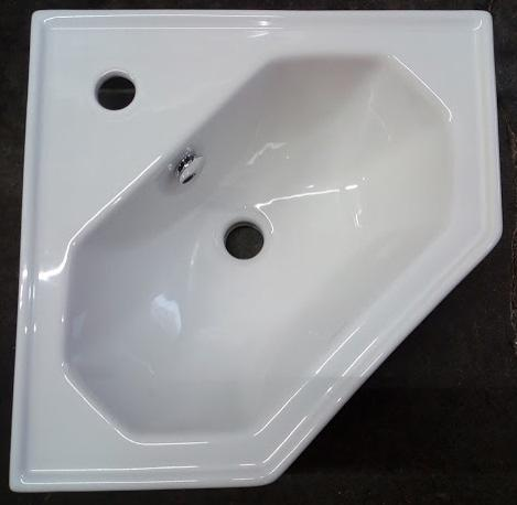wall mounted corner basin TCDOV08