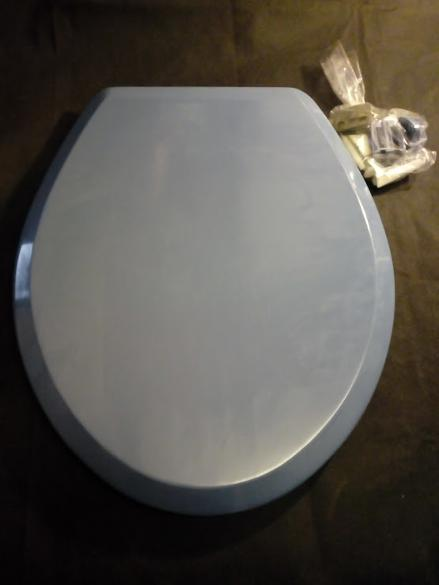 alpine blue toilet seat plastic uk