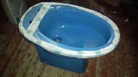 alpine blue shires one hole bidet
