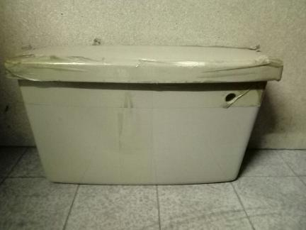 avocado colour toilet cistern tank
