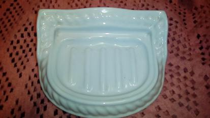 rope twist bathroom soap dish ceramic