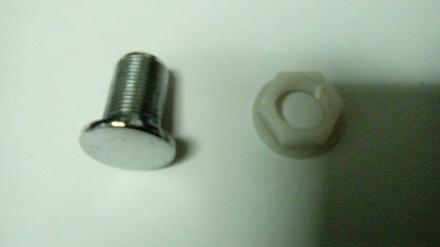 chrome stopper 15mm 20mm cistern plug