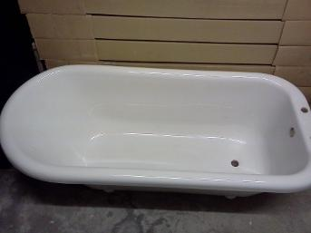 Roll Top Clearwater freestanding bath