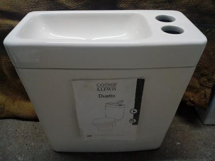 cooke & lewis duetto combined duo basin wc