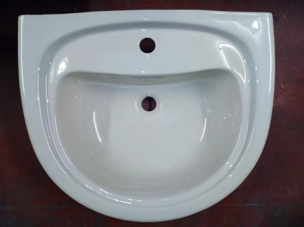 doulton indian ivory colour basin
