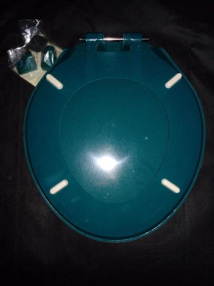 emerald green colour macdee toilet seat