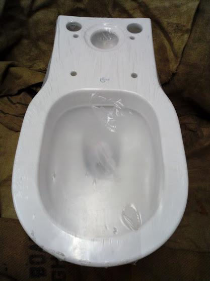 ideal standard sense close coupled toilet pan