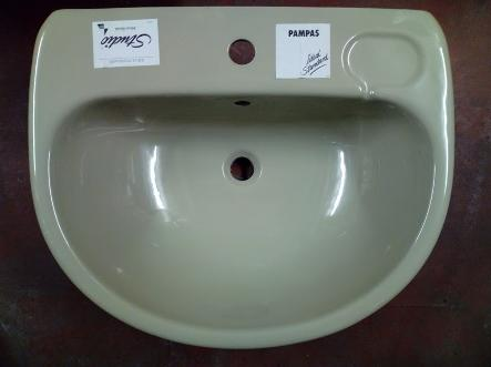 ideal standard studio pampas green basin