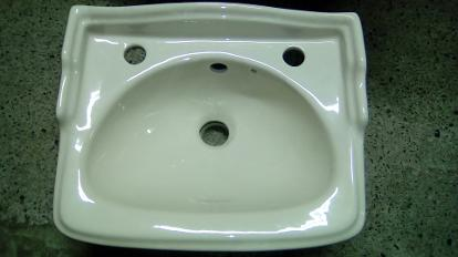 karat soft cream cloakroom basin
