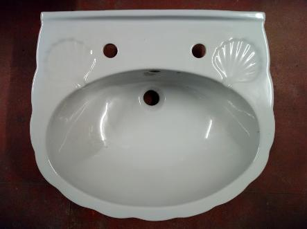 karat grey basin sink shell 80s 90s