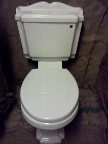 legend victorian upstand pan cistern toilet
