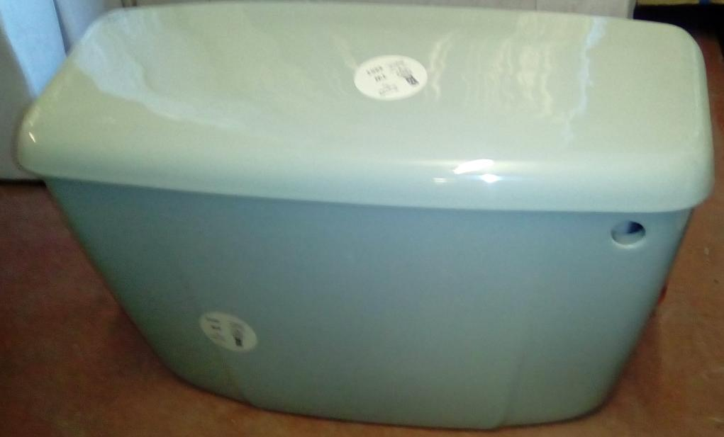 Linden Green Colour Bathroom Goods  Toilet Seats Cisterns Basins