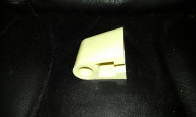 seat hinge rod bar top primrose colour yellow