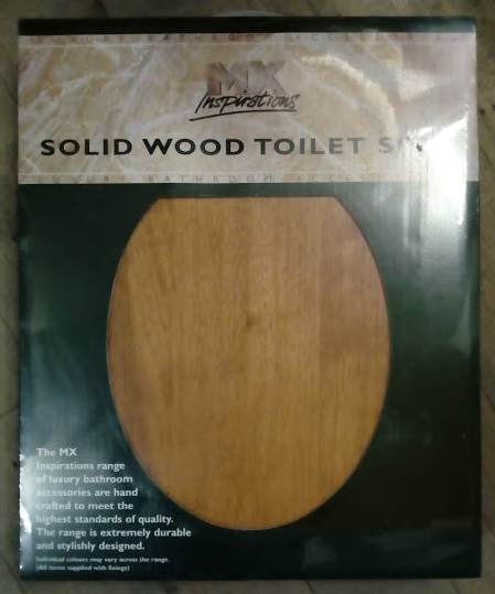 Wood Toilet Seats Mahogany Pine Limed Oak Metal Fixings