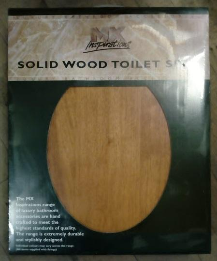 mx solid wood toilet seat pine