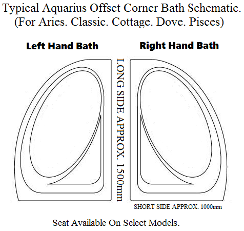 offset bath hands righ hand left plan image