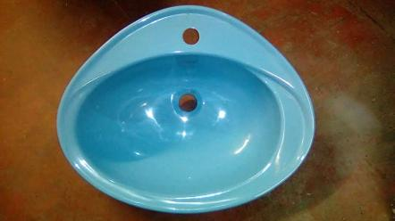 pacific blue vanity bowl inset Armitage Shanks