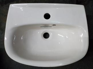 pergamon roca laura old english white hand basin cloakroom