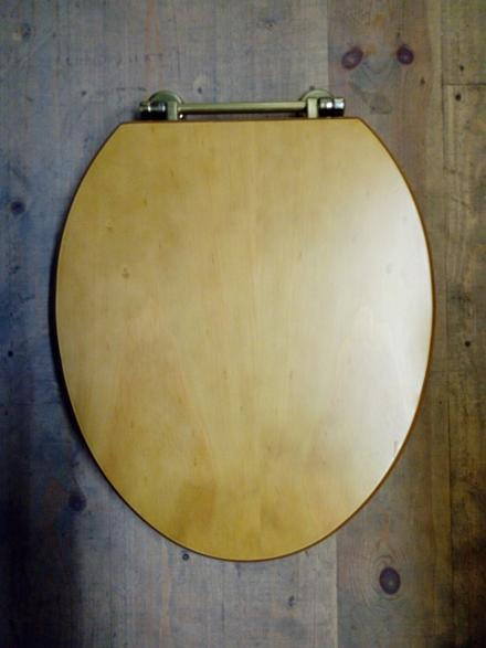 real pine toilet seat gold bar hinge