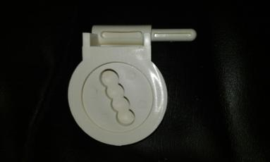 toilet seat hinge mandarin soft cream fixing top