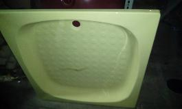 primrose yellow shower tray yorkshire old colours