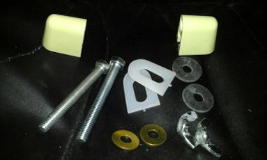 primrose toilet seat hinges macdee plastic top fix