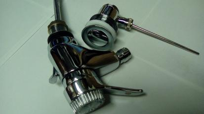 lever type bidet tap chrome mixer