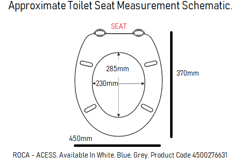 roca access toilet seat disabled pan easy