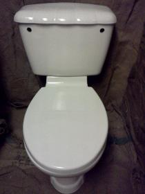 qualcast shell pan cistern toilet