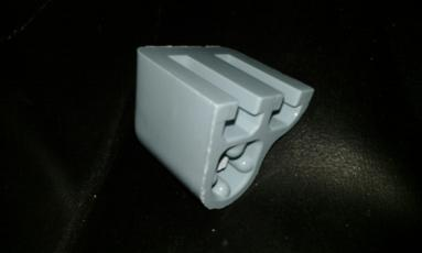 top fitting seat bracket toilet sky blue
