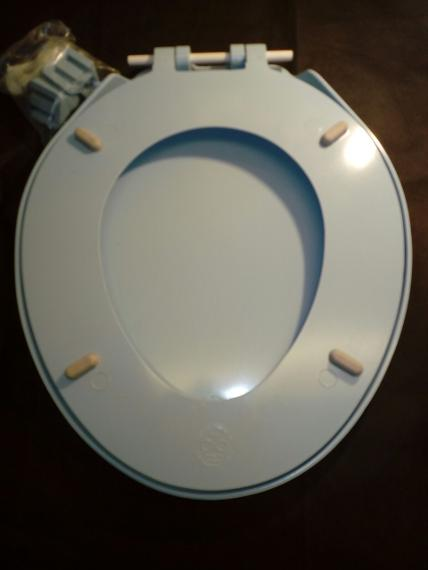 camerons osprey sky blue toilet seat