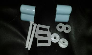 sky blue toilet seat hinges macdee plastic fitting top