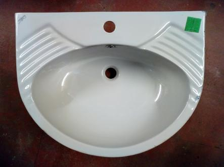 spring mono one tap basin grey