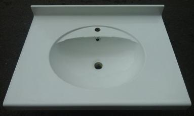 800mm wide large square vanity top bathroom wash monoblo