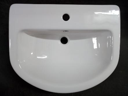 tc bathrooms centurion semi recessed basin