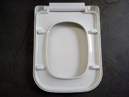 tc bathrooms square toilet seat standard mini