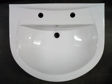 tc bathrooms tunnel pedestal basin