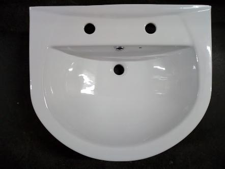 tc bathrooms tunnel semi recessed basin