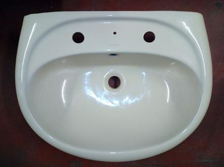valadares champagne colour bathroom basin sink