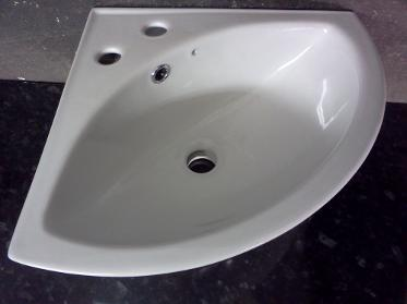 corner basin small sink 380